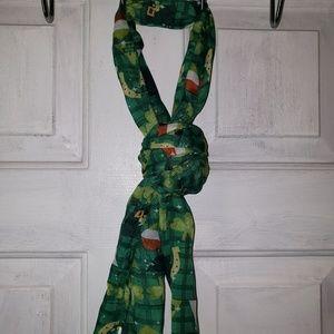 St patricks day scarf